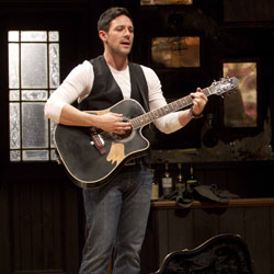 Steve Kazee in Once