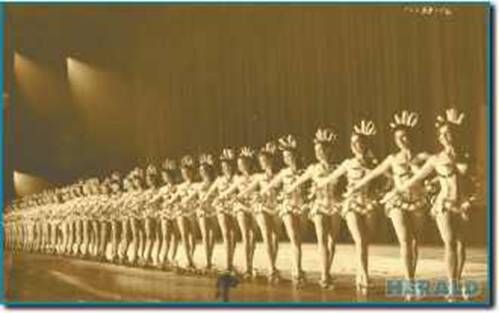 CORLISS WHITNEY & THE RADIO CITY MUSIC HALL ROCKETTES
